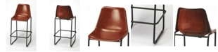 Butler Specialty Butler Myles Leather Bar Stool