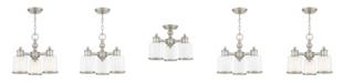 Livex Middlebush 3-Light Convertible Mini Chandelier/Ceiling Mount