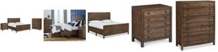 Furniture Edinburgh Storage King Bedroom Furniture, 3-Pc. Set (King Bed, Nightstand & Chest)