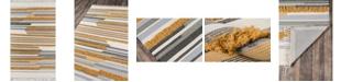 Novogratz Collection Novogratz Indio Ind-6 Mustard 5' x 7' Area Rug