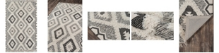 "Novogratz Collection Novogratz Indio Ind-5 Black 7'6"" x 9'6"" Area Rug"