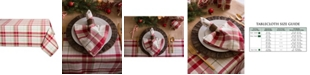 """Design Import Orchard Plaid Table Cloth 52"""" x 52"""""""