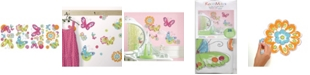 York Wallcoverings Brushwork Butterfly Peel and Stick Wall Decals