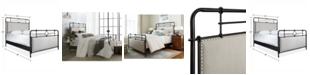 Furniture Portos Metal King Bed