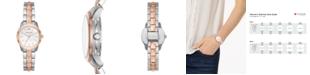 Michael Kors Women's Runway Mercer Two-Tone Stainless Steel Bracelet Watch 28mm