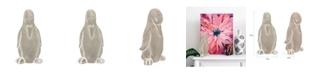 Howard Elliott Stone Penguin Sculpture