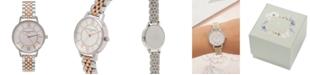 Olivia Burton Women's Wonderland Two-Tone Stainless Steel Bracelet Watch 30mm