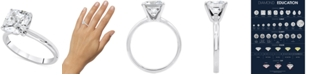 Macy's Star Signature Diamond LIMITED EDITION Cushion-Cut Solitaire Engagement Ring (2 ct. t.w.) in 14k White Gold
