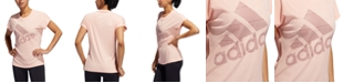 adidas Women's ClimaLite® Logo T-Shirt