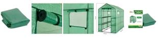 Ogrow 2 Tier 12 Shelf Greenhouse PE Replacement Cover