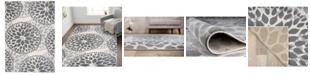 "Main Street Rugs Home Haven Hav9099 Gray 7'6"" x 9'5"" Area Rug"