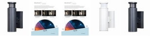 Vaxcel Chiasso LED Motion Sensor Outdoor Wall Light Dusk to Dawn Dark Sky