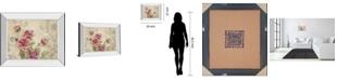 """Classy Art Mon Jardin II by Tava Studios Mirror Framed Print Wall Art, 22"""" x 26"""""""