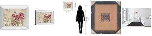 "Classy Art Mon Jardin I by Tava Studios Mirror Framed Print Wall Art, 22"" x 26"""