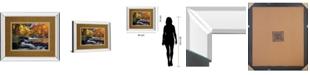 "Classy Art River of Gold by Mike Jones Mirror Framed Print Wall Art, 34"" x 40"""