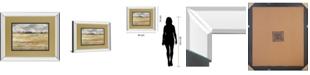 "Classy Art Meadow Shimmer I by Nan Mirror Framed Print Wall Art, 34"" x 40"""