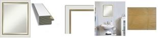 "Amanti Art Eva Gold-tone Framed Bathroom Vanity Wall Mirror, 19.12"" x 23.12"""