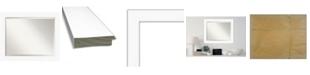 "Amanti Art Cabinet Framed Bathroom Vanity Wall Mirror, 33.38"" x 27.38"""