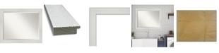 "Amanti Art Mosaic Framed Bathroom Vanity Wall Mirror, 32.25"" x 26.25"""