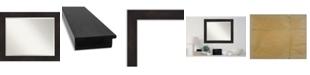 "Amanti Art Furniture Framed Bathroom Vanity Wall Mirror, 33.38"" x 27.38"""