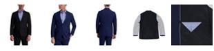 Louis Raphael Stretch Stria Slim Fit Suit Separate Jacket