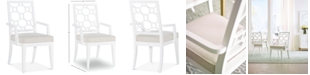 Furniture Chelsea Lattice Back Arm Chair