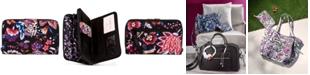 Vera Bradley Iconic RFID Turnlock Wallet