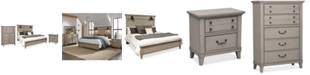 Furniture Sausalito Bedroom Furniture, 3-Pc. Set (California King Bed, Nightstand & Chest)