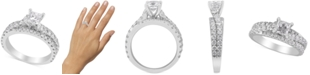 Macy's Diamond Princess Engagement Ring (2 ct. t.w) in 14k White Gold