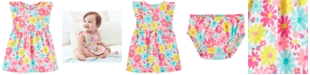 Carter's Baby Girls Cotton Floral-Print Dress