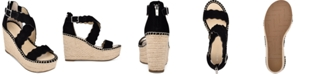 Marc Fisher Calita Platform Espadrille Wedge Sandals