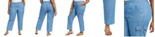 Michael Kors Plus Size Cargo Pants