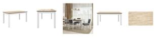 Handy Living Weston Rectangular Smart Top Dining Table