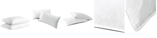 UNIKOME 2-Pack 75/25 White Down & Feather Firm Pillows, King Size