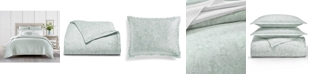 Charter Club Sleep Luxe Aloe Scroll Cotton 800 Thread Count 3 Pc. Comforter Set, King, Created for Macy's