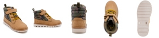 London Fog Toddler Boys Camo Work Boot with Strap