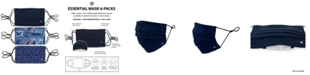 Society of Threads Unisex Pleated Face Mask Americana 6-Pack