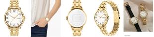 COACH Women's Arden Gold-Plated Bracelet Watch 36mm