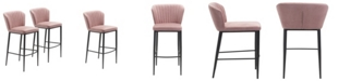 Zuo Tolivere Bar Chair, Set of 2