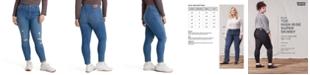Levi's Trendy Plus Size 720 High-Rise Super Skinny Jeans