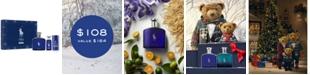 Ralph Lauren Men's 3-Pc. Polo Blue Eau de Parfum Gift Set
