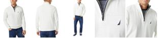 Nautica Men's Navtech Classic-Fit Quarter Zip Sweater