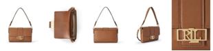 Lauren Ralph Lauren Leather Spencer Shoulder Bag