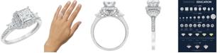 Macy's Diamond Engagement Ring (1 3/4 ct. t.w.) in 14K White Gold