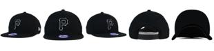 New Era Kids' Pittsburgh Pirates Black White 9FIFTY Snapback Cap