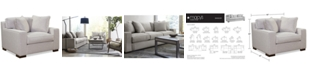 """Furniture CLOSEOUT! Bangor 49"""" Chair and a Half, Created for Macy's"""