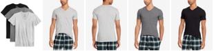 Polo Ralph Lauren Men's Undershirt, Slim Fit Classic Cotton V-Neck 3 Pack