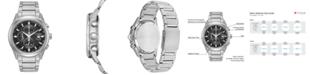 Citizen Eco-Drive Men's Chronograph Titanium Bracelet Watch 43mm