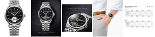 Raymond Weil Men's Swiss Automatic Freelancer Stainless Steel Bracelet Watch 42mm