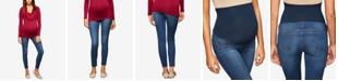 Luxe Essentials Denim Maternity Medium Wash Skinny Jeans